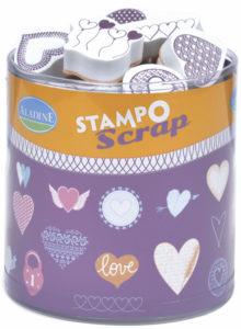 Stampo Scrap srdíčka