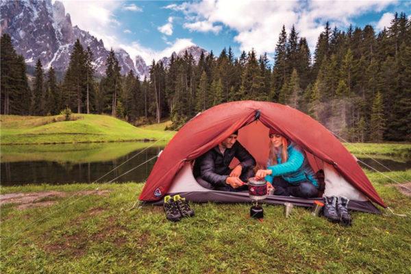 Turistický stan Robens Boulder 2. Foto: www.4camping.cz