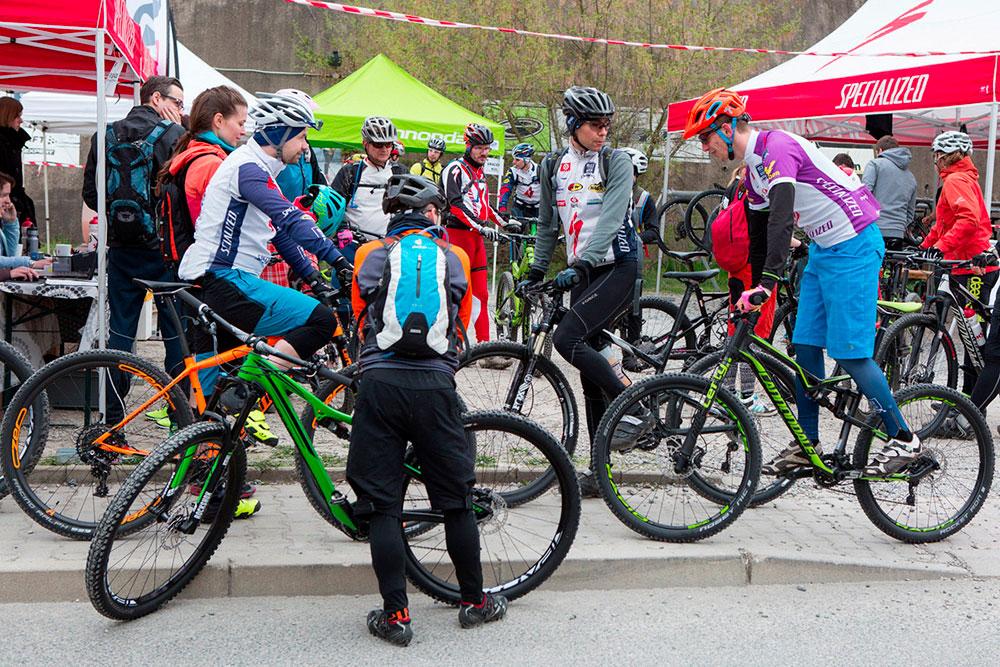 Testovaní kol Ski a Bike Centrum Radotín