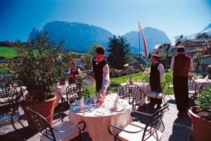 hotelu Thurm v Jižním Tyrolsku