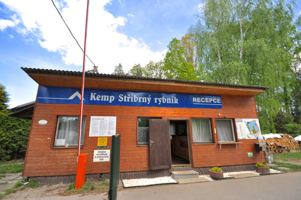 Kemp a chaty Stříbrný rybník. Foto: www.4camping.cz
