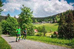 Běžecké trasy Valašsko