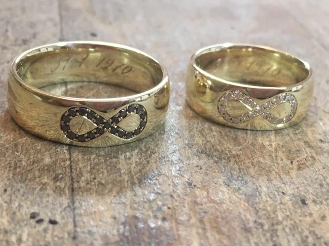 Výroční prsteny z lásky.