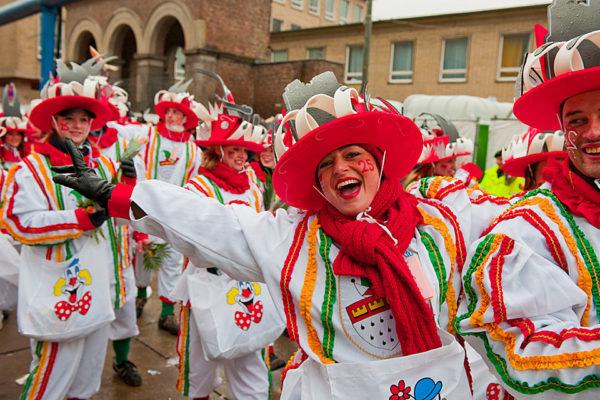 Kolínský karneval začíná 23. 2. 2017. Foto: Tourismus Nordrhein Westfalen, Franke Oliver