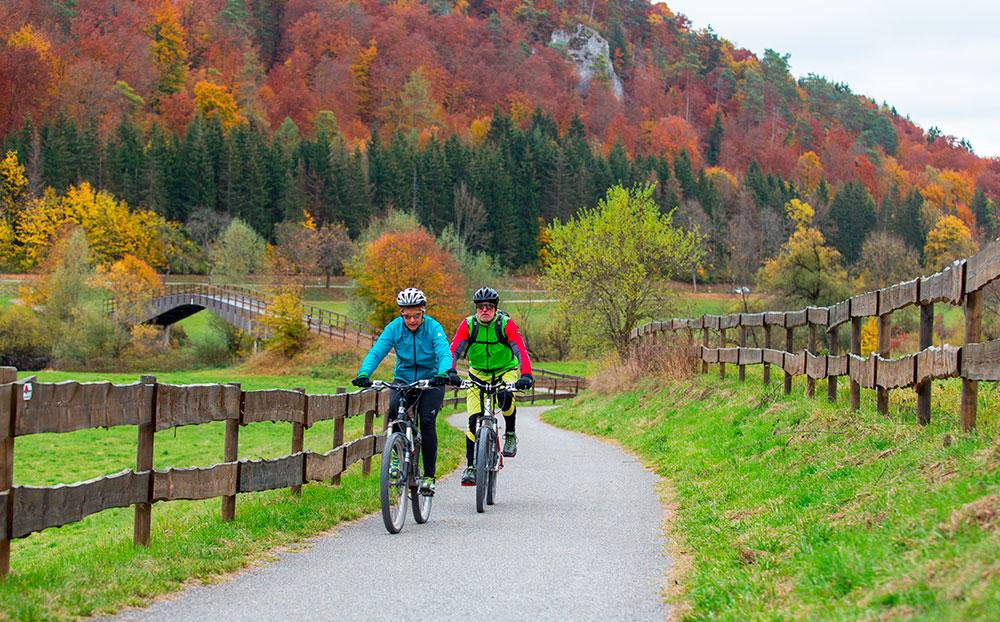 cyklistické u Dunaje