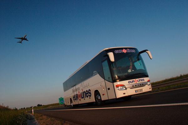 Nová linka Eurolines na mnichovské letiště. Foto: www.eutolines.cz