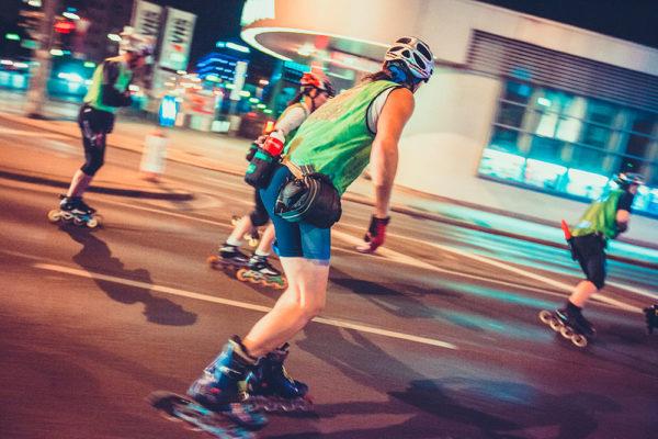 Adreanlinová noční jízda ve Vídni. Foto: Philipp Lipiarski, www.goodlifecrew.at