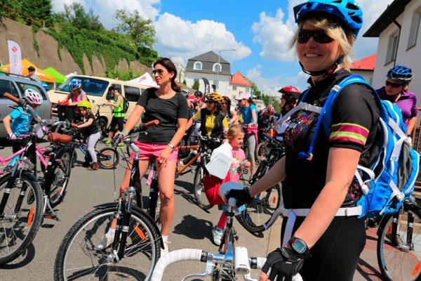 Cyklistice se věnuje čím dál více žen. Foto: Ski a Bike centrum Radotín