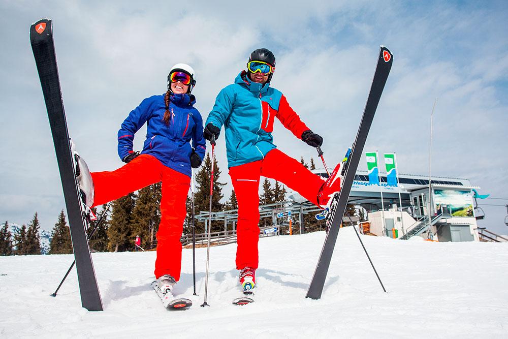 Bunda na lyže
