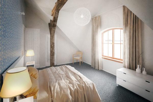 Luxusní pokoje zajistí maximální pohodlí. Foto: www.nebespan.cz